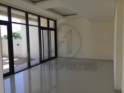 3 Bedroom Townhouse for Rent in DAMAC Hills (Akoya by DAMAC), Dubai - 3BR + Maid Single Row Unit Facing the Park