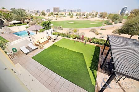 5 Bedroom Villa for Sale in Dubai Sports City, Dubai - Type C1 | Golf Course View | Immaculate<BR/>