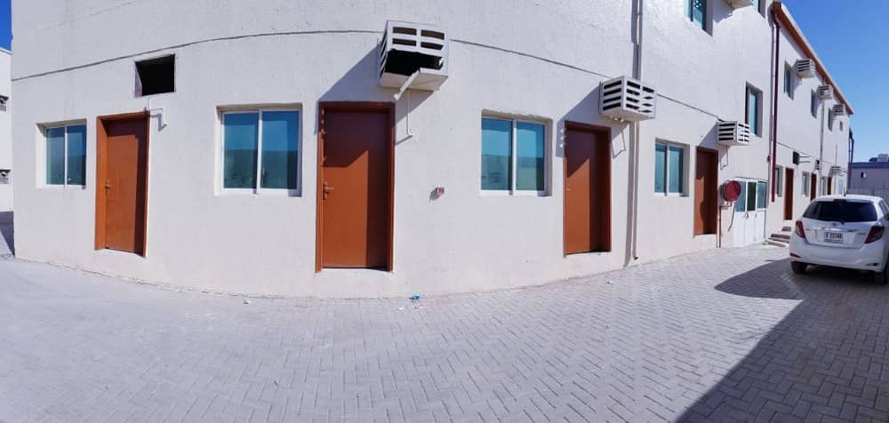 CLEAN LABOR CAMP WITH ALL FACILITIES FOR JUST AED 1550/MONTH INCLUDING ELECTRICITY WATER & SEWERAGE