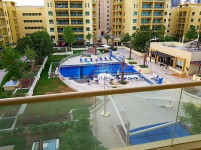 2 Bedroom Apartment for Sale in The Greens, Dubai - Fully Furnished | 2 BR+study  | Full pool view