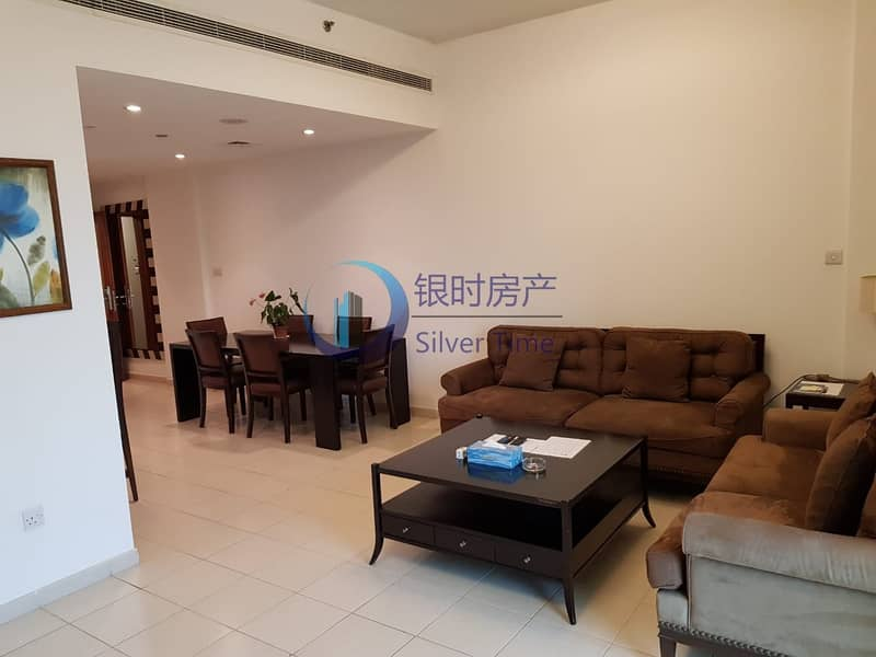 2 BR Plus Study | Fully Furnished | 100k By 4 Cheqs