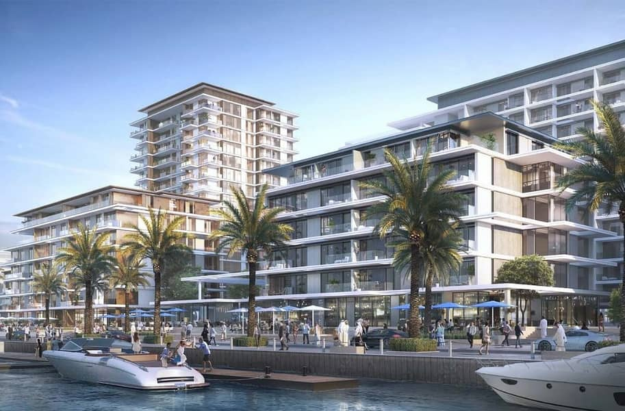 Specious 1Bedroom In Emaar's New Floating Project On Port rashid Dubai