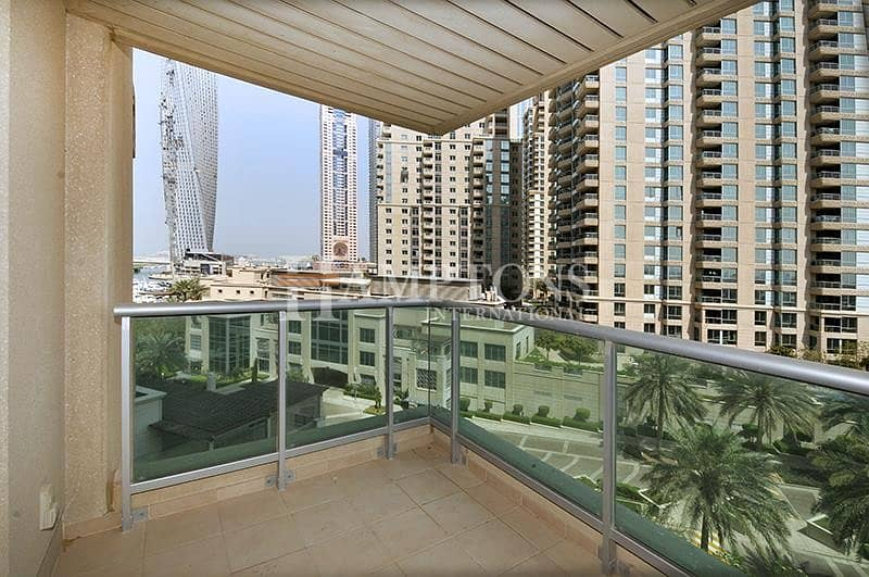 1 BR + S | Mesk tower | Partial marina View