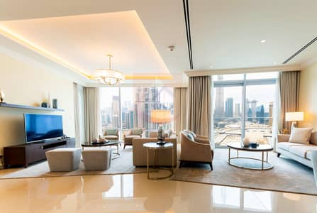 3BR+M Address Fountain|Burj and Fountain View