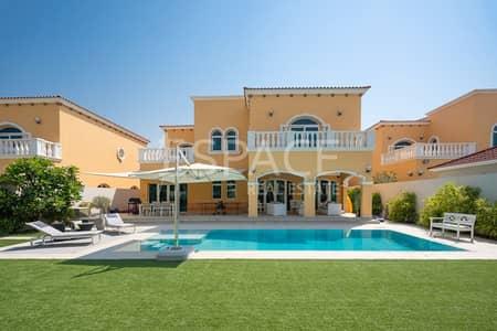 فیلا 5 غرفة نوم للبيع في جميرا بارك، دبي - Dist 2 | Vaastu | Private Pool | Upgraded