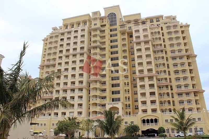 2 Fabulous Sea View 1 Bedr for Rent In Royal Breeze - Al Hamra Village