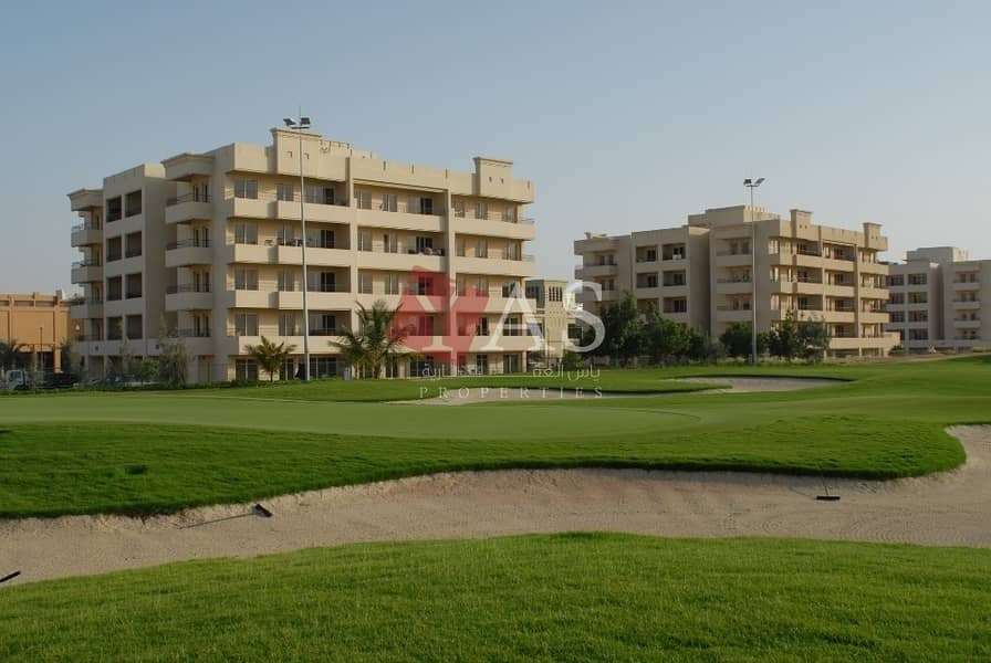 2 Fabulous Golf View One Bedroom Apartment  For Rent in Golf Apartments - Al Hamra Villag
