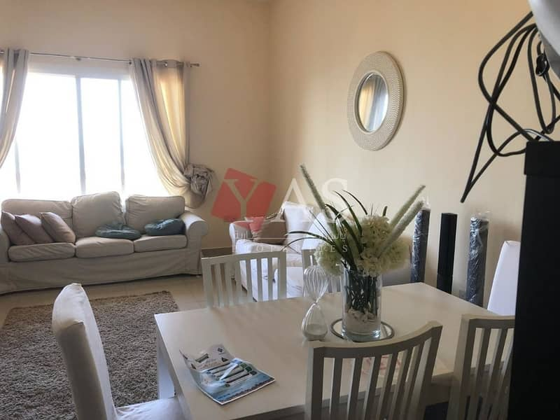 Amazing Fully Furnished 2BR Sea View For Rent in Royal Breeze