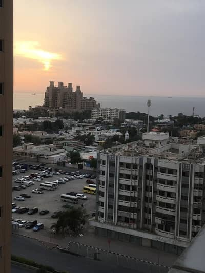 1 bhk biggest size partial sea view  in Ajman one tower