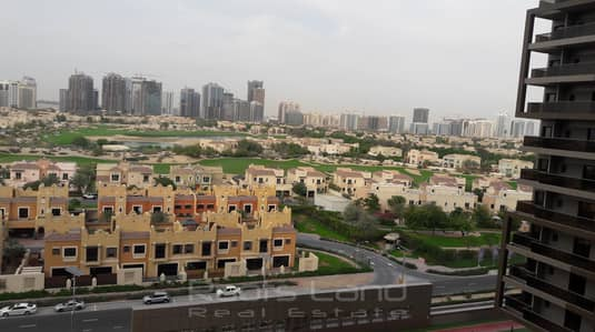 1 Bedroom Apartment for Rent in Dubai Sports City, Dubai - Fully Furnished 1 Bedroom with Golf View in Elite