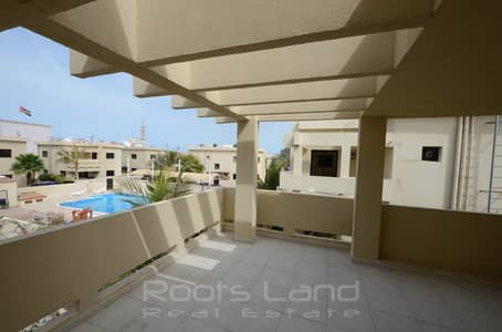 lovely Villa within a Compound with Shared Pool
