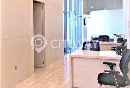 Shop for Rent in Business Bay, Dubai - Semi Fitted Commercial Space in an Income Generating Area