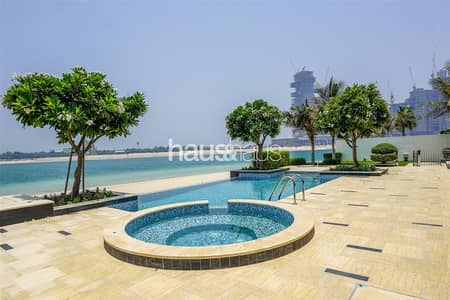 6 Bedroom Villa for Sale in Palm Jumeirah, Dubai - Brand New Tip Villa over three levels Vacant Now