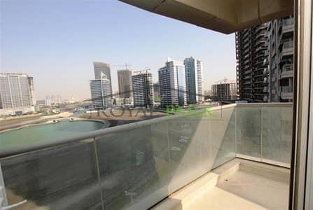 1 Bedroom Flat for Rent in Dubai Sports City, Dubai - 1 BR + Balcony+laundry in Hub Canal 1