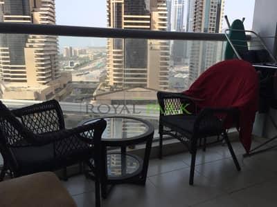 شقة 1 غرفة نوم للبيع في دبي مارينا، دبي - RENTED - 1BR For Sale In Skyview Tower Dubai Marina