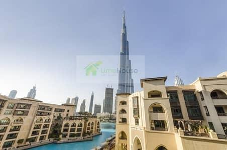 3 Bedroom Flat for Rent in Old Town, Dubai - Full Burj Khalifa View | Large 3 Bedroom