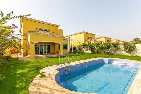 4 Bedroom Villa for Sale in Jumeirah Park, Dubai - Legacy Style Villa | 4BR +Maids | Garden