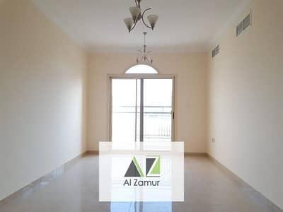 Brand new 2Bhk with balcony Wardrobe free parking in al Taawun Just 42k