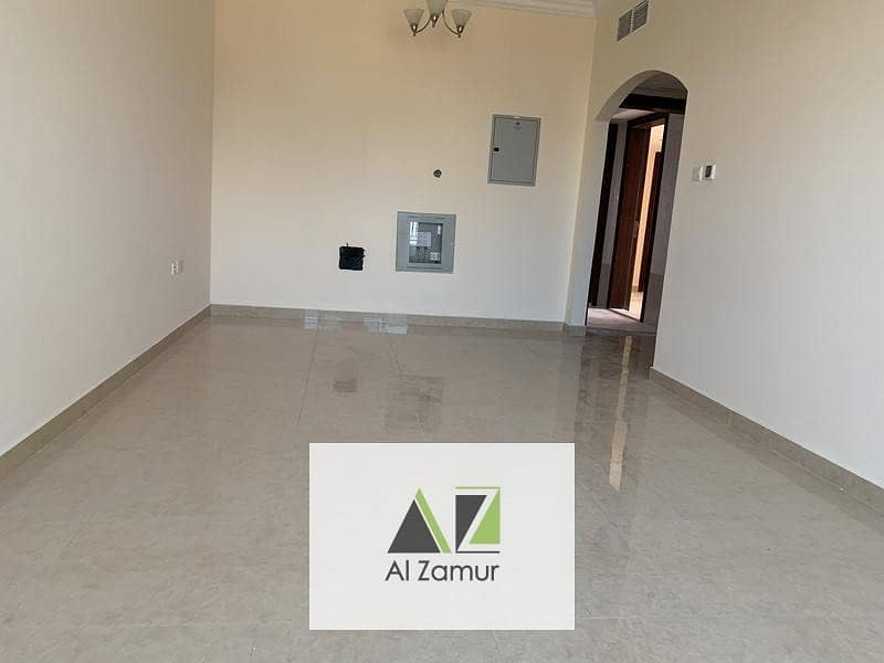 2 Brand new 2Bhk with balcony Wardrobe free parking in al Taawun Just 42k