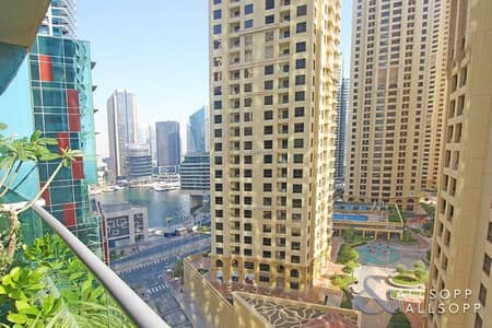 2 Bedroom Flat for Sale in Jumeirah Beach Residence (JBR), Dubai - Partial Marina and Sea View | 2 Bedrooms