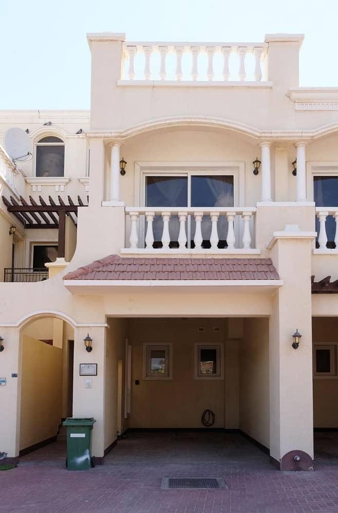 تاون هاوس في فلل الحمراء فيليج B قرية الحمراء 2 غرف 645000 درهم - 4137816