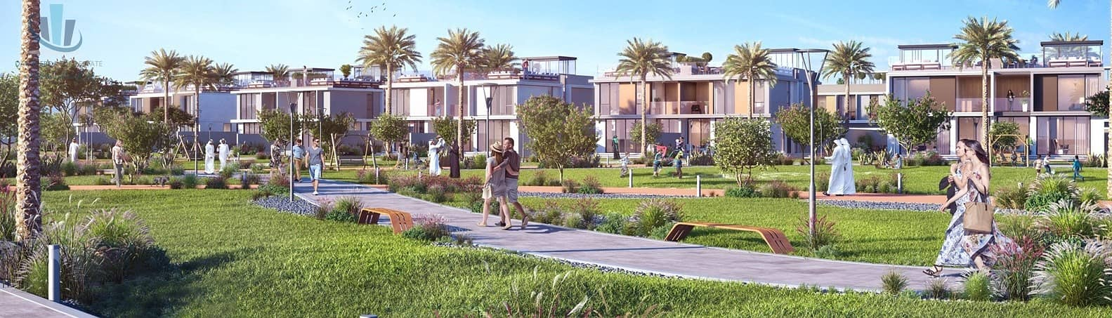 VillaGolf Grove 4Br MBR 1% Monthly Installments for 5 Years