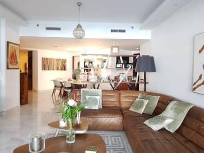 شقة 3 غرفة نوم للايجار في دبي مارينا، دبي - 3BR+ Maid | Panaoramic Marina View | Marina Tower | Dubai Marina