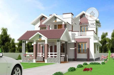 فیلا 8 غرفة نوم للبيع في الرحبة، أبوظبي - Brand New  8 BR. Villa in Al Rahba area