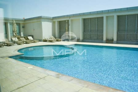 2 Bedroom Apartment for Rent in Danet Abu Dhabi, Abu Dhabi - Spacious 2BR. Aprt. with Parking + Facilities