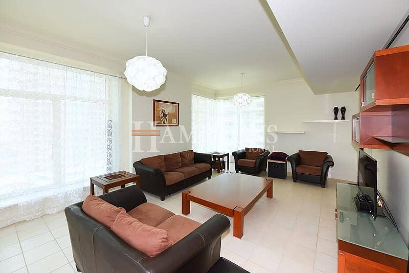 3BR Furnished | Mid Floor | Marina View