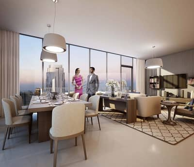 3 Bedroom Flat for Sale in Downtown Dubai, Dubai - Luxurious 3 BR with 2 Balcony | Facing Burj View