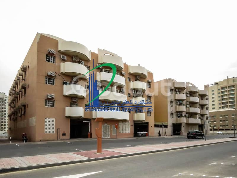 One BHK in Family Building with Free Covered Parking  near Apple International School-in Al Qusais