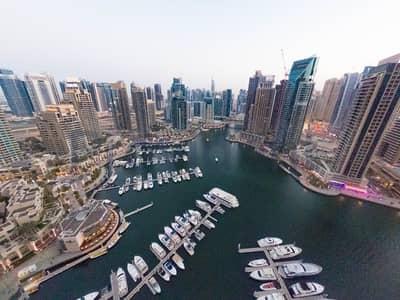 فلیٹ 2 غرفة نوم للايجار في دبي مارينا، دبي - The Best 2BR Corner Unit|Marina View|Chiller Free