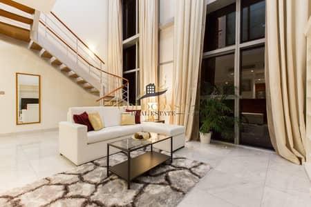 شقة 2 غرفة نوم للبيع في مركز دبي المالي العالمي، دبي - Lovely 2 bed Duplex|SZR view|Rented|Investors dream