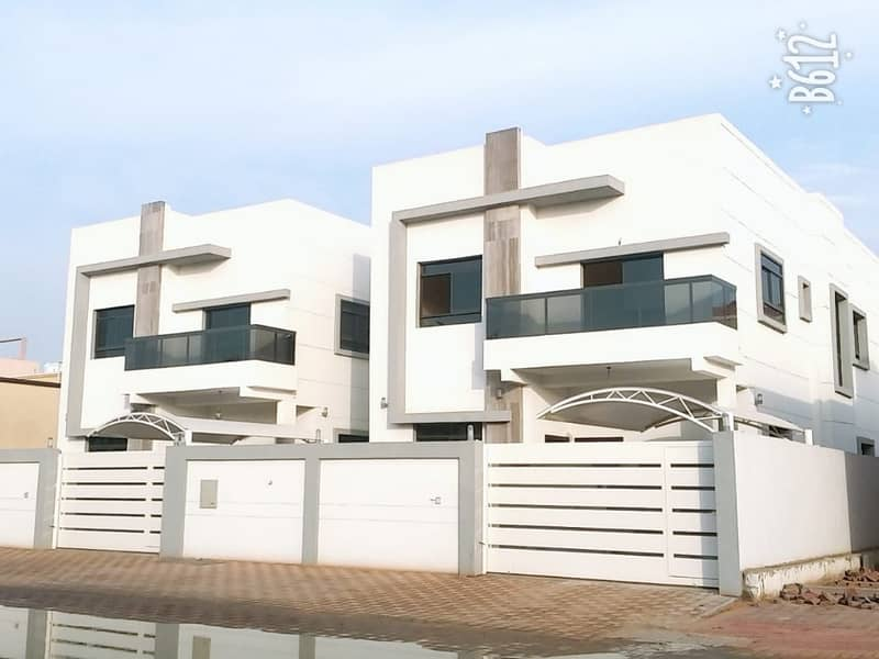 For sale Villa two floors first resident Super Deluxe finishing in Ajman in the area of Muwaihat 3