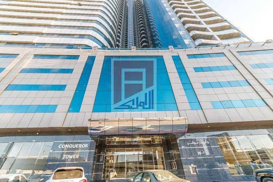 19 Pay 5% and Move to Brand New 2Bed Room Apartment in Conqueror Tower Ajman
