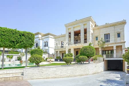 6 Bedroom Villa for Sale in Emirates Hills, Dubai - Underground CarPark | Basement | Golf View | Vastu