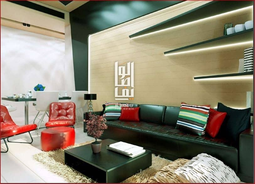 Yes! Its Fully furnished Studio for only 399k Aed. payable for  7yrs!  Dubai offplan