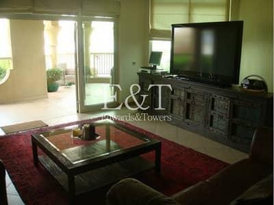 شقة 3 غرفة نوم للايجار في نخلة جميرا، دبي -  with Beach Club membership