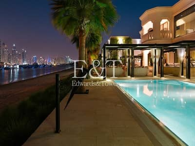 5 Bedroom Villa for Rent in Palm Jumeirah, Dubai - Impeccably Upgraded and Redesigned Villa | PJ