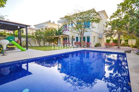 فیلا 2 غرفة نوم للايجار في مثلث قرية الجميرا (JVT)، دبي - Private pool | Upgraded | One of a kind