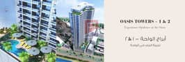 1 pay 30000 down payment only and own 1 BHK full sea view immediately in oasis tower