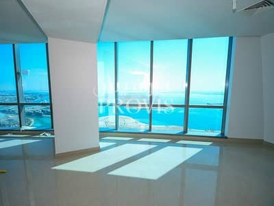3 Bedroom Apartment for Rent in Corniche Road, Abu Dhabi - Gorgeous 4 Beds Apt with Facilities and Sea Views!