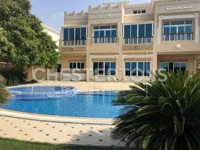 فیلا 4 غرفة نوم للايجار في قرية مارينا، أبوظبي - Negotiable Price I Sea View I Private Pool