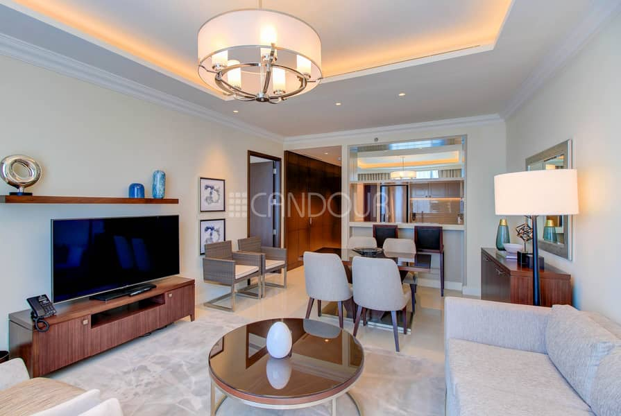 Unobstructed View of Burj Khalifa| Fully Furnished