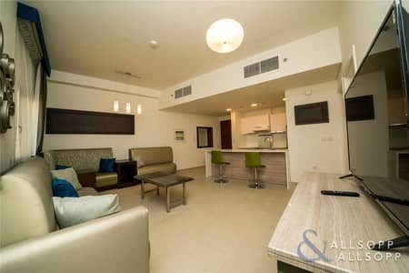 1 Bedroom Flat for Rent in Jumeirah Golf Estate, Dubai - Fully Furnished | All Appliances | 1 Bed