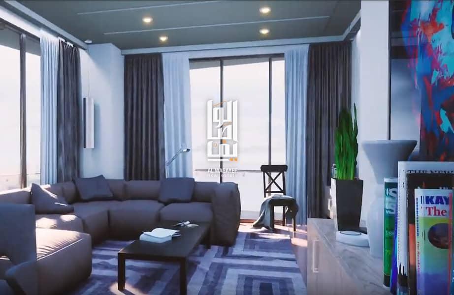splendid residential 1BR furnished  | 5% Booking