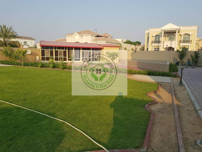 1 DEWA CONNECTED PRICE REDUCED VERY NICE 5 BED ROOM MAJLIS 2 KITCHEN GARDEN PARKING MAID ROOM