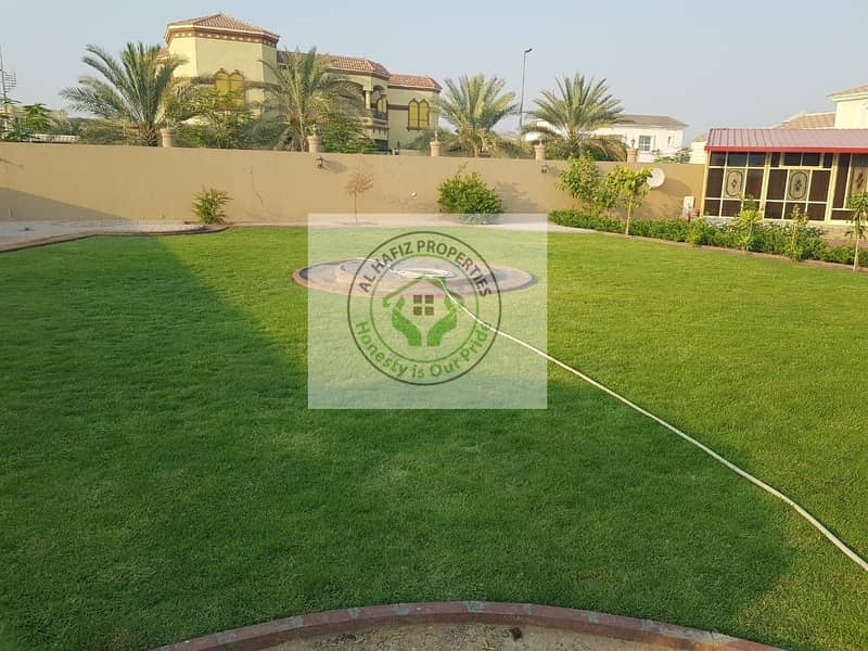 2 DEWA CONNECTED PRICE REDUCED VERY NICE 5 BED ROOM MAJLIS 2 KITCHEN GARDEN PARKING MAID ROOM