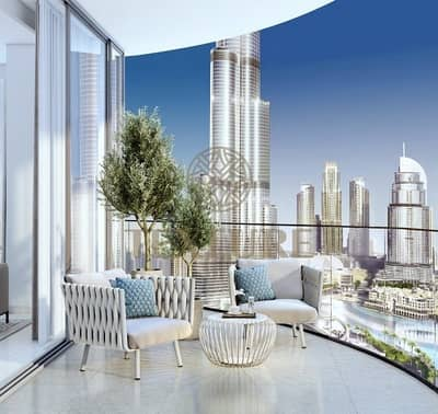 2 Bedroom Apartment for Sale in Downtown Dubai, Dubai - Stunning 2BR in Down Town with easy Payment plan